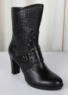 Henry Beguelin Womens Black Boots