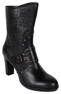 Henry Beguelin Womens Leather Black Boots