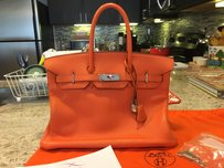 Hermès Birkin Vintage Satchel in Orange