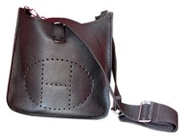 Herms Evelyne Gm Clemence Black Messenger Bag
