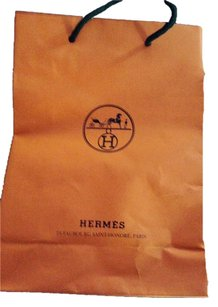 Hermès Hermes gift bag with ribbon