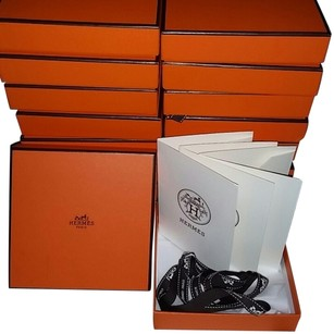 Hermès Hermes Scarf /Bracelet /Jewelry Square Gift boxes +Gift bags With borduc ribbon Lots