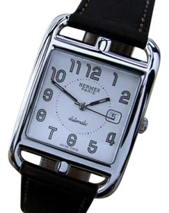Hermès Hermes Paris Cc1. 710 Automatic Stainless Steel Swiss Made Mens Watch Rx411