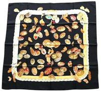 Hermès Hermes Vintage Scarf Excellent Condition Black Multicolor
