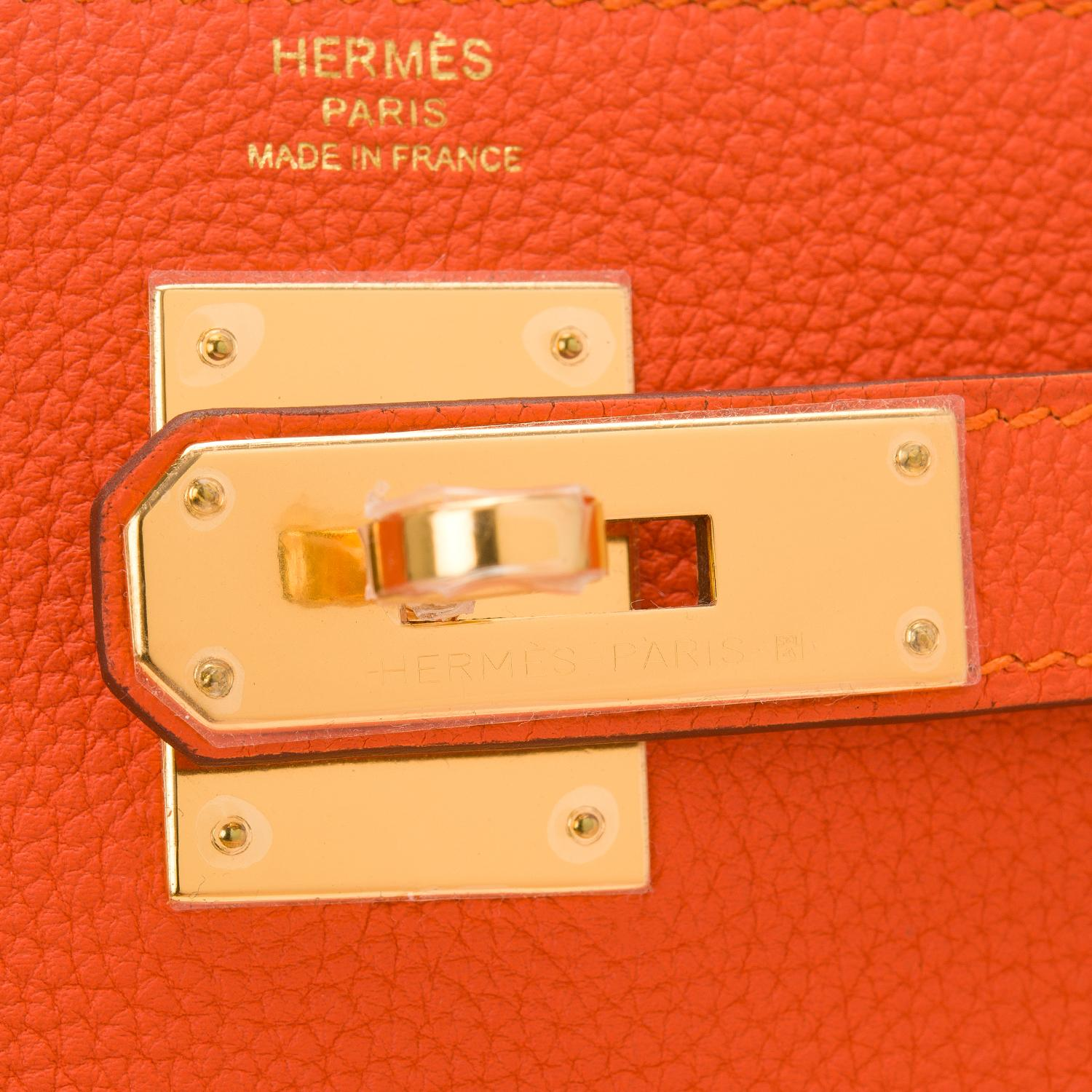 e85b9b2fc3d1e ... birkin bag with gold hardware d6576 81895  low price hermès kelly feu  togo retourne 28cm gold hardware orange leather satchel tradesy f9efd 56217