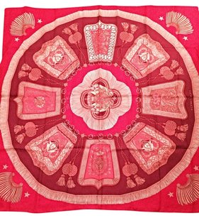 Hermès NEW Pink Hermes Scarf EXCELLENT CONDITION