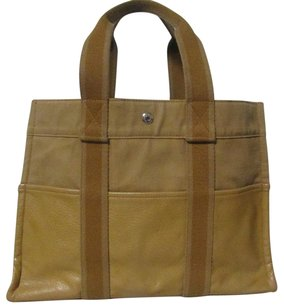Herms Tote in light brown