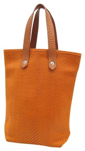 Herms Tote in Orange