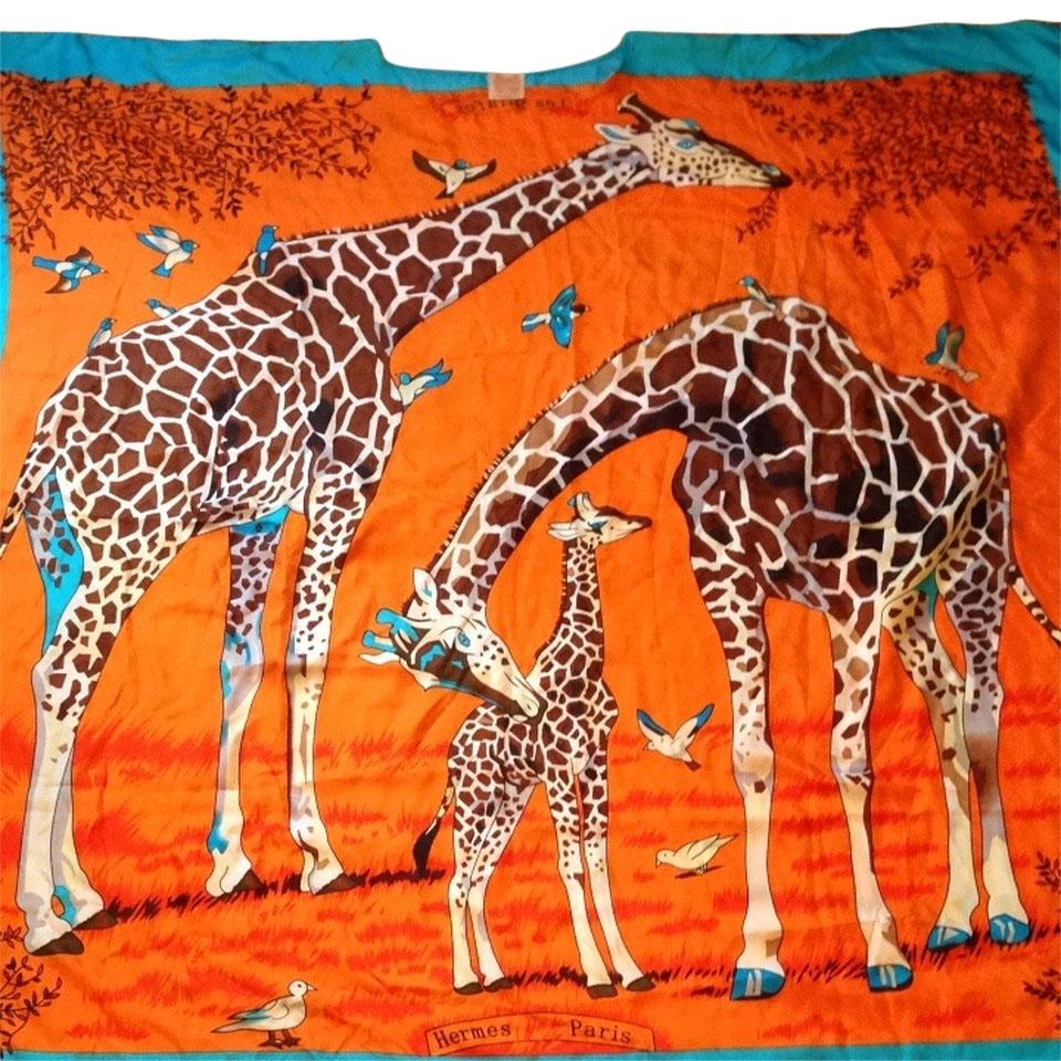 Image result for hermes giraffe scarf