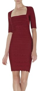 Herv Leger Bandage Mini Dress