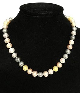 Honora Honora Pink Yellow Blue White Cultured 18 Freshwater Pearl Necklace B3379