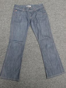 Hudson Jeans Thick Waistband Dark Pants