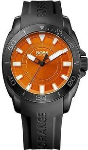 Hugo Boss Boss Orange Black Silcone Mens Watch 1512952