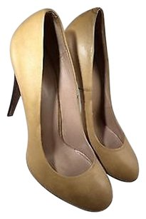Hugo Boss Leather Tan Pumps