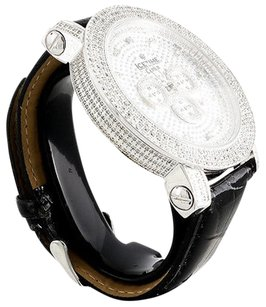 IceTime Mens Icetime Crown Diamond Watch Ct. Joe Rodeo Jojo Crushed Dial