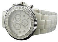 IceTime Mens Icetime Palace Swiss Techno Com Kc Ceramic Diamond Watch 2.0ct