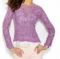 INC International Concepts 52485up899 Cotton Blends Sweater