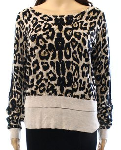 INC International Concepts Boat Neck Long Sleeve Sweater
