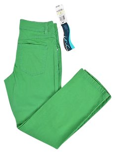 INC International Concepts Green Regular Fit Capri/Cropped Denim