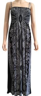 Black/White Maxi Dress by India Boutique Maxi Patio