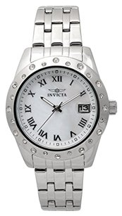 Invicta INVICTA Angel Silver Dial Stainless Steel Ladies Watch IN17487
