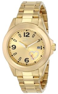 Invicta INVICTA Specialty Champagne Dial Gold-plated Ladies Watch IN16327