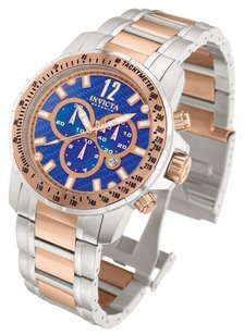 Invicta Invicta Speedway Blue Dial Chronograph Dive Two Tone Watch