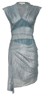 IRO Metallic Silver Dress