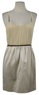 Isabel Lu Womens Ivory Creme Dress