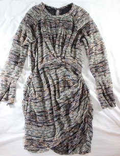 Isabel Marant Ikat Velvet Dress