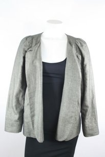 Isabel Marant Isabel Marant Gray Black Tweed Linen Blazer Jacket