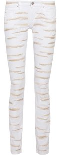 Isabel Marant Luxury Paris Straight Leg Jeans-Light Wash