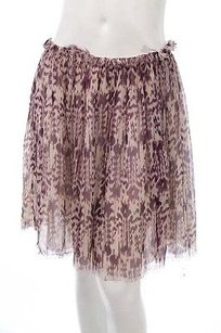 Isabel Marant Beige Skirt Purple