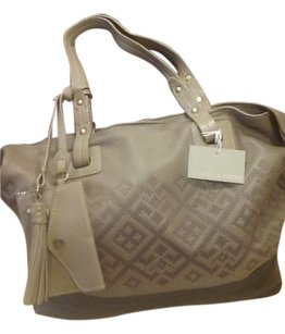 Isabella Fiore Gray Tote in Grey and Black