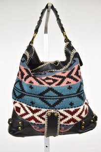 Isabella Fiore Womens Black Satchel in Black, Blue, Gray, Pink, White