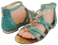 Isola Adriel Leather Mint Sandals