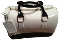 Isomers.ca Purse Satchel in Black & White