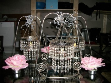 Mini Tea Light Chandeliers