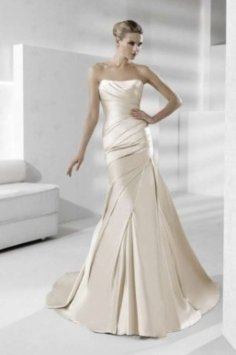 White One Tigris Wedding Dress