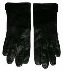 Coach Coach Leather Silk-lined Gloves