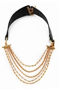 House of Harlow HOUSE OF HARLOW 1960 BY NICOLE RICHIE CHAIN LEATHE