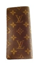Louis Vuitton Leather Louis Vuitton sunglasses case.