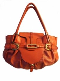 Jimmy Choo Bag - Satchel in Orange