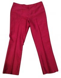 French Connection Capris Burgundy/Fuschia