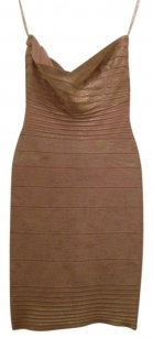 Herve Leger Strapless Dress