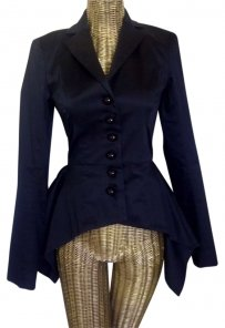 Betsey Johnson Black Blazer