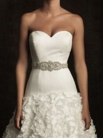 Allure Bridal Sash - S33