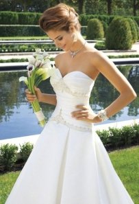 Group Usa & Camille La Vie W4017 Wedding Dress