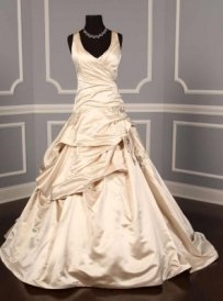 Monique Lhuillier Schiaparelli Wedding Dress