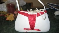 Ivory And Apple Handbag
